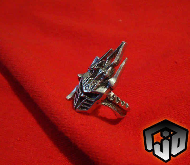 fantasy sword king world warcraft wow jewelry leech frostmourne silver merchandise ring