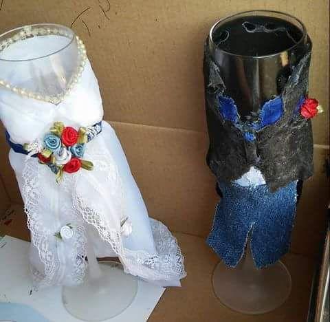 wine glasses champagne toast dress gown weeding tuxedo tux wedding