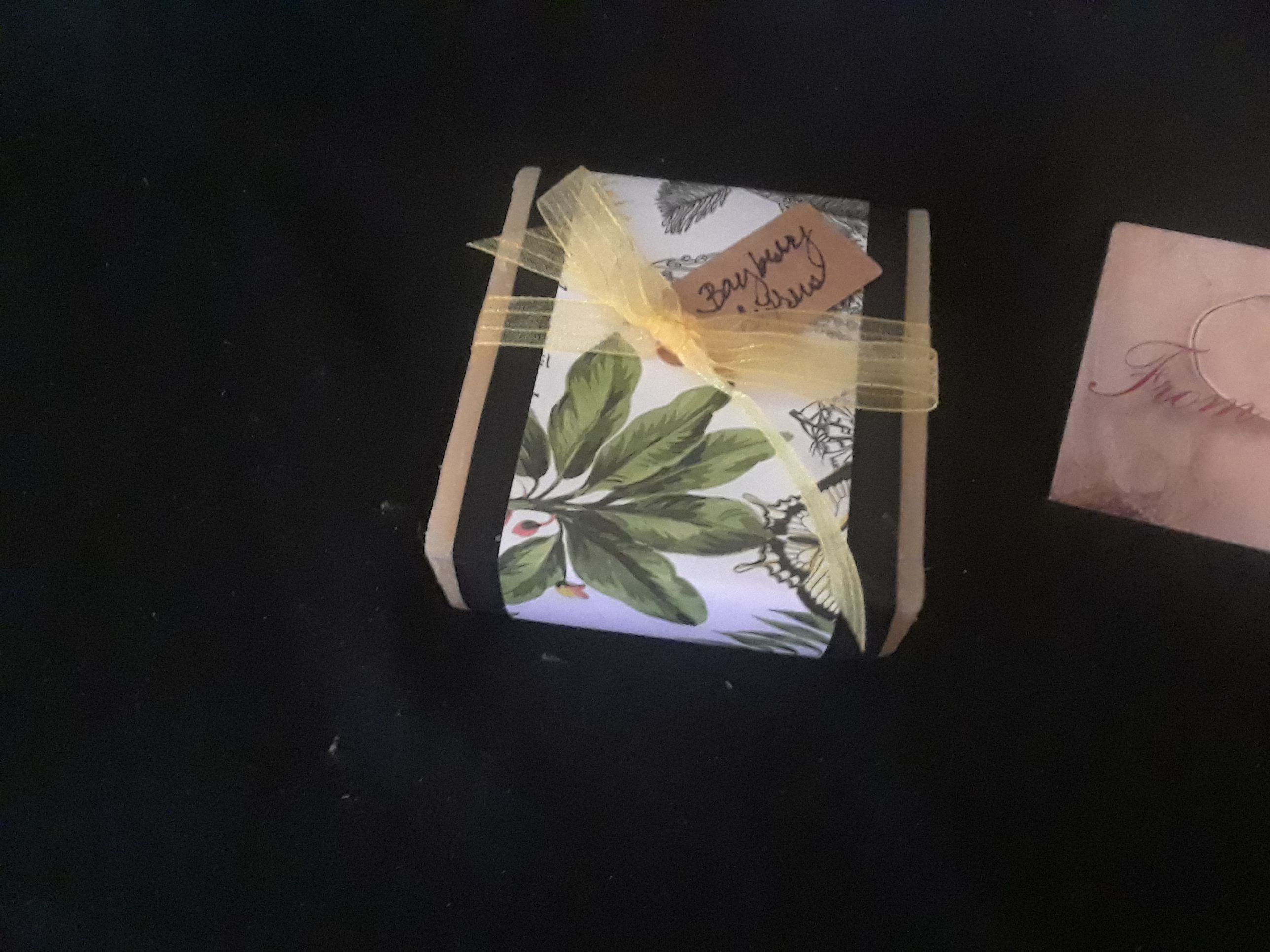 natural scented bay citrus soap berry