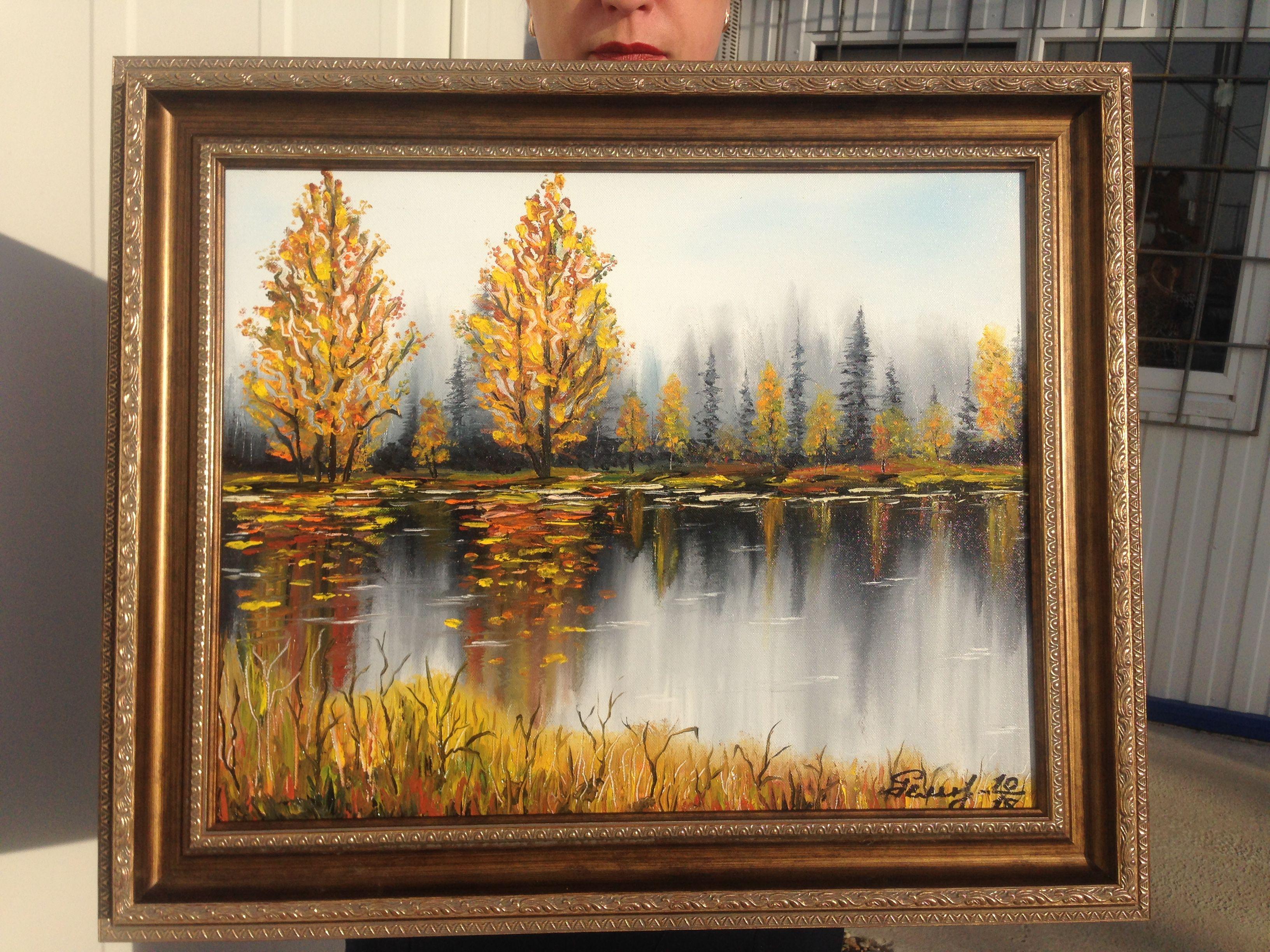 art painting interior picture autumn