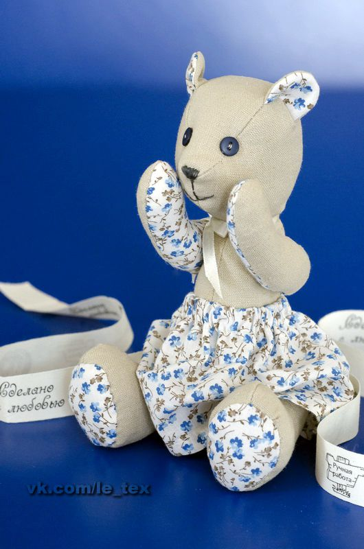 toy cotton gift linen bear