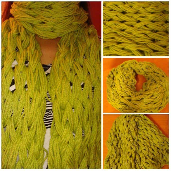 handmade scarf chunkyknit knittedbyhand warmscarf