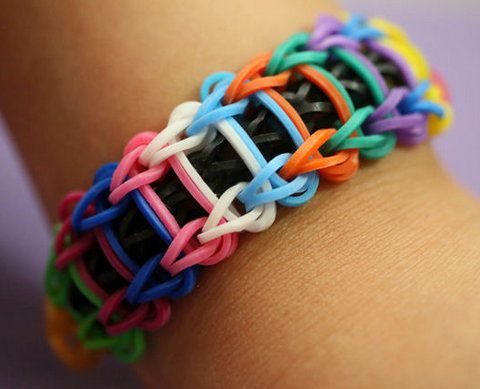 bands elastic bracelet make loops ladder