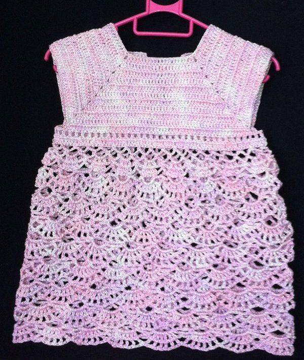 baby dress textile crochet goods