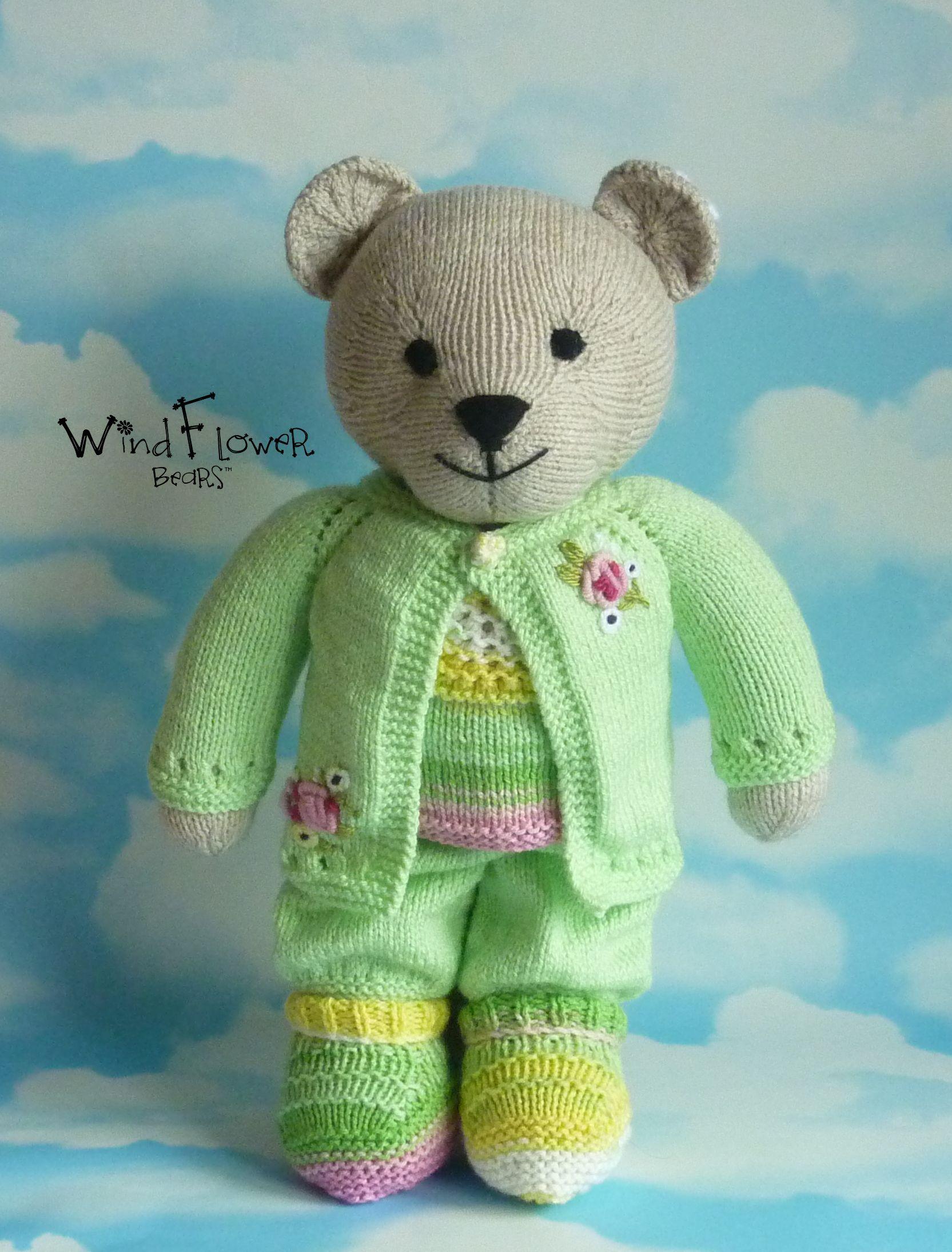 gift bear handmade teddy