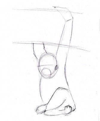 monkey manual draw pencil art