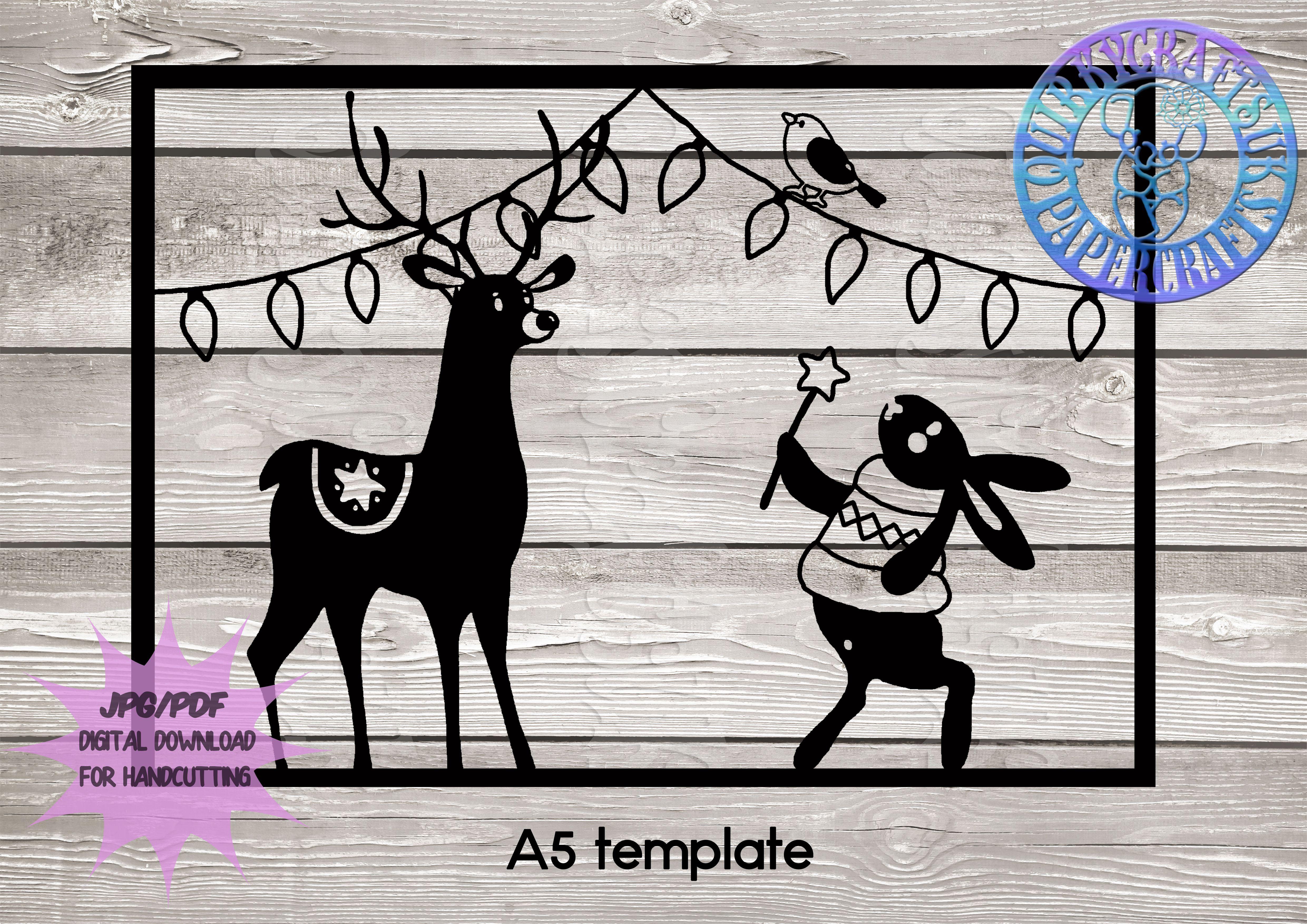 robin card xmas quirkycraftsuk polar mistletoe and greetings deer star bird decorations merry christmas qcuk lights bear making