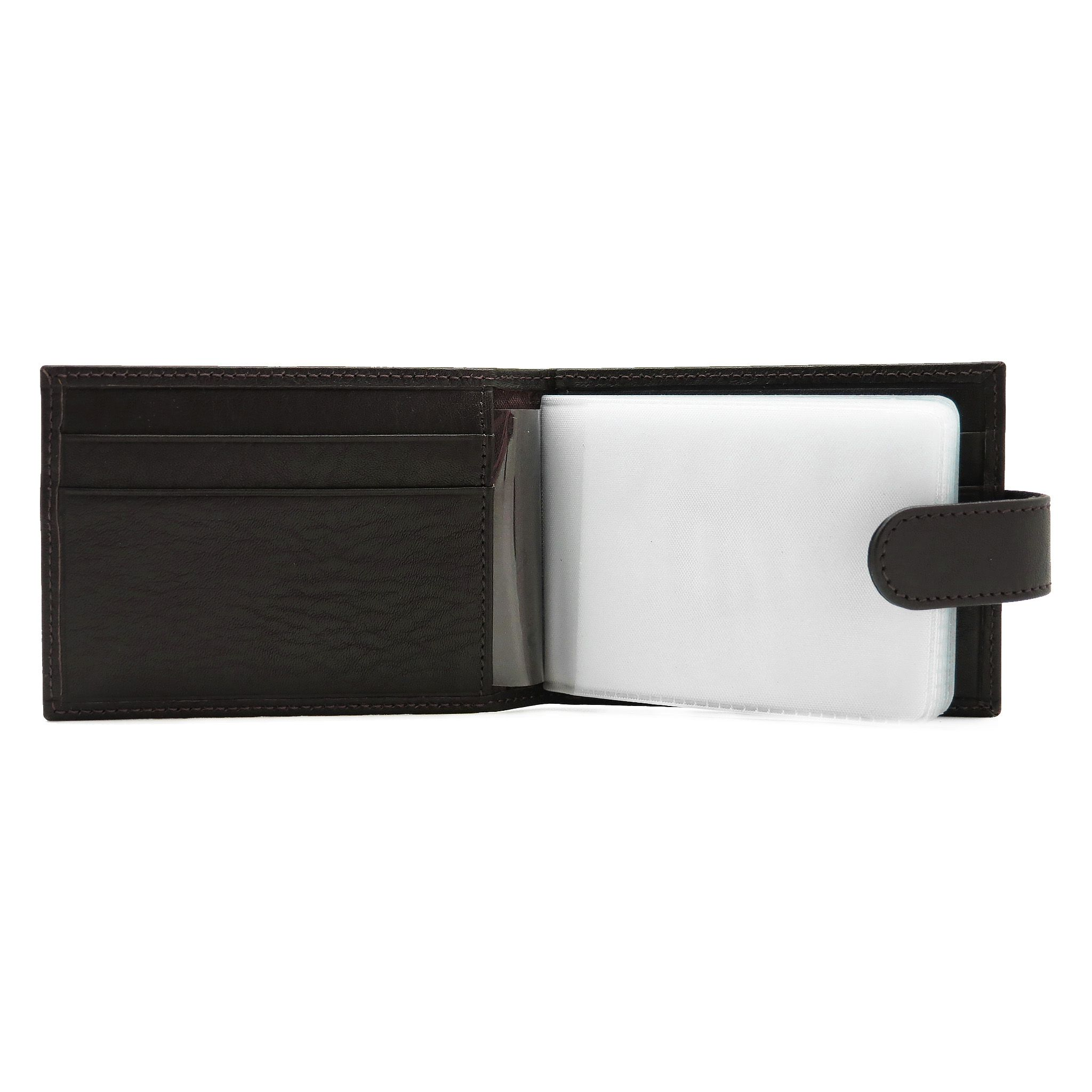 accessories leather brown red handmade cardholder
