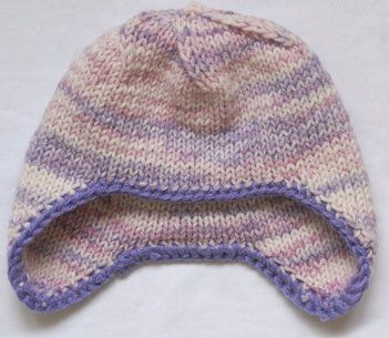 baby textile hat knit goods
