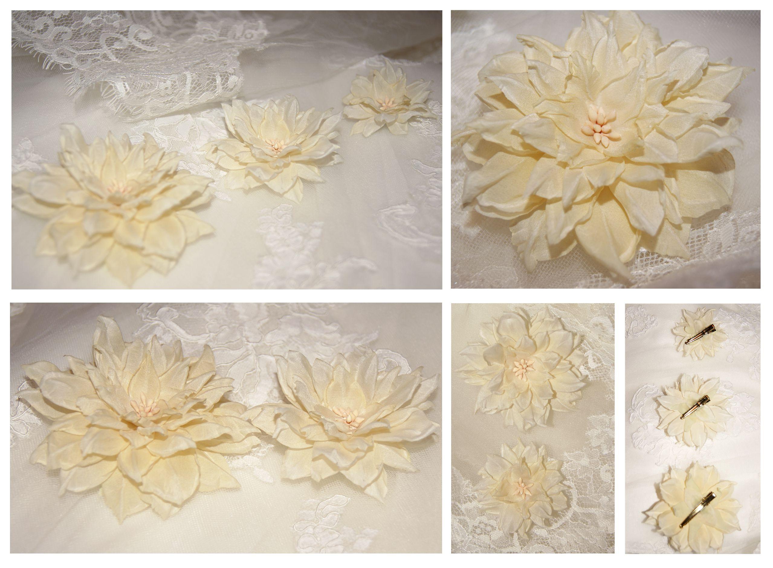 accessories flowers hairpin set present wedding