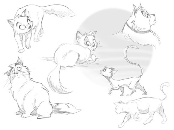 art cartoon animals kids base draw