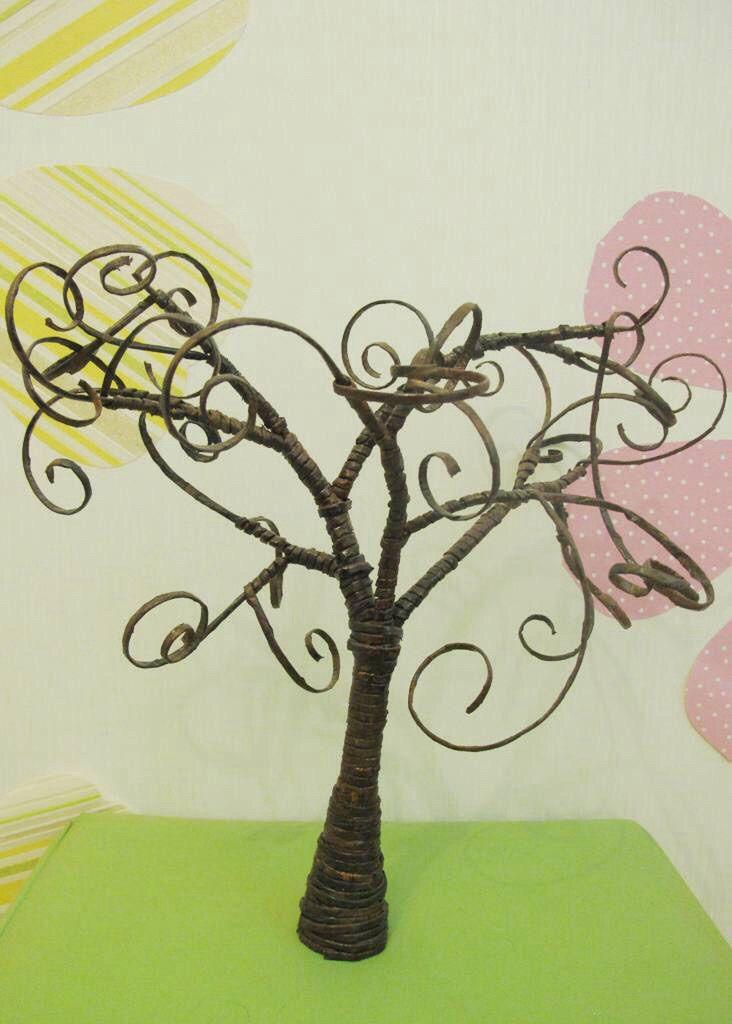 paper tree interior unusual