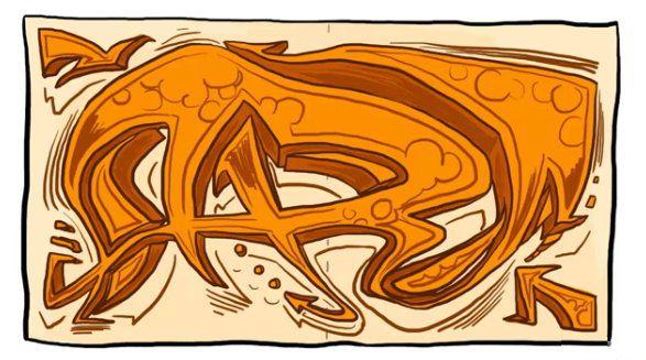 sketch graffiti names art draw