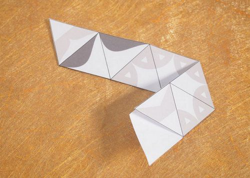 crafts hexahedron hexaflexagon paper make