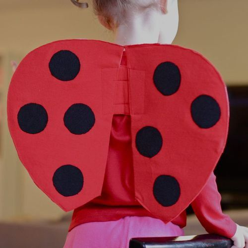 sew holidays costume fabric ladybug