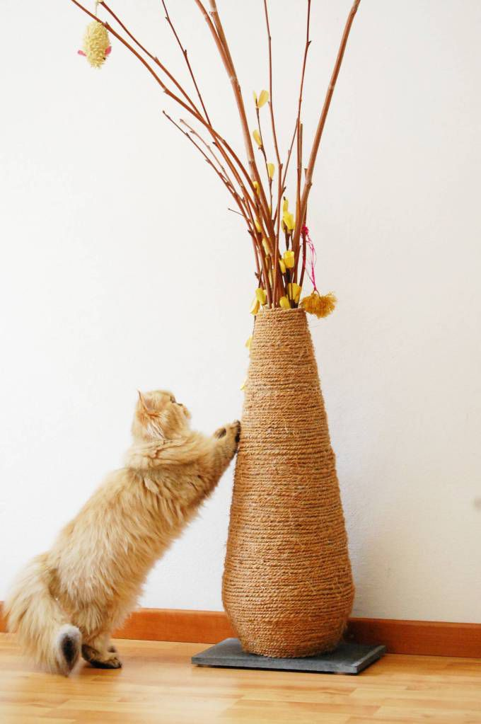 toy home decor idea cat animals