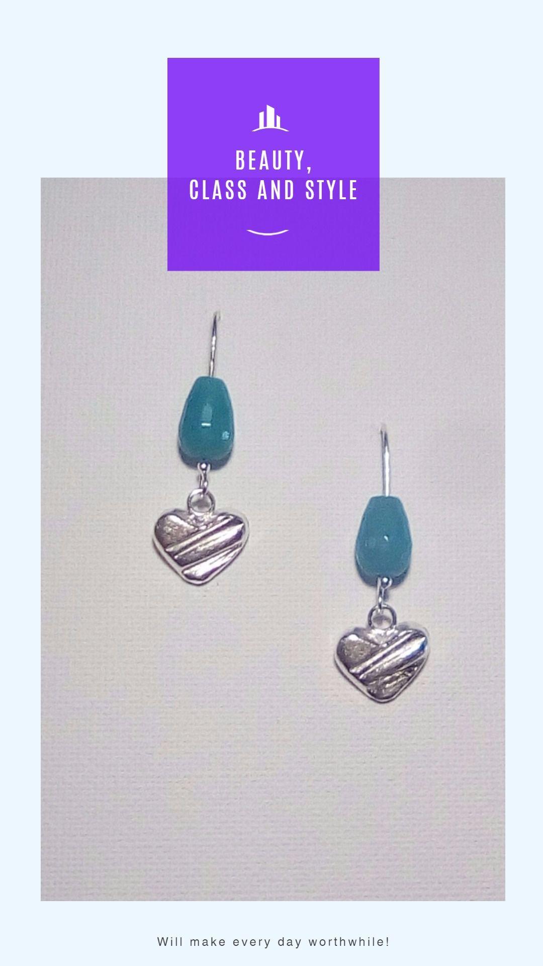 silverearrings heartearrings gift agate earrings jewelry