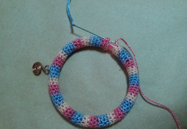 accessories goods textile crocheting bracelet