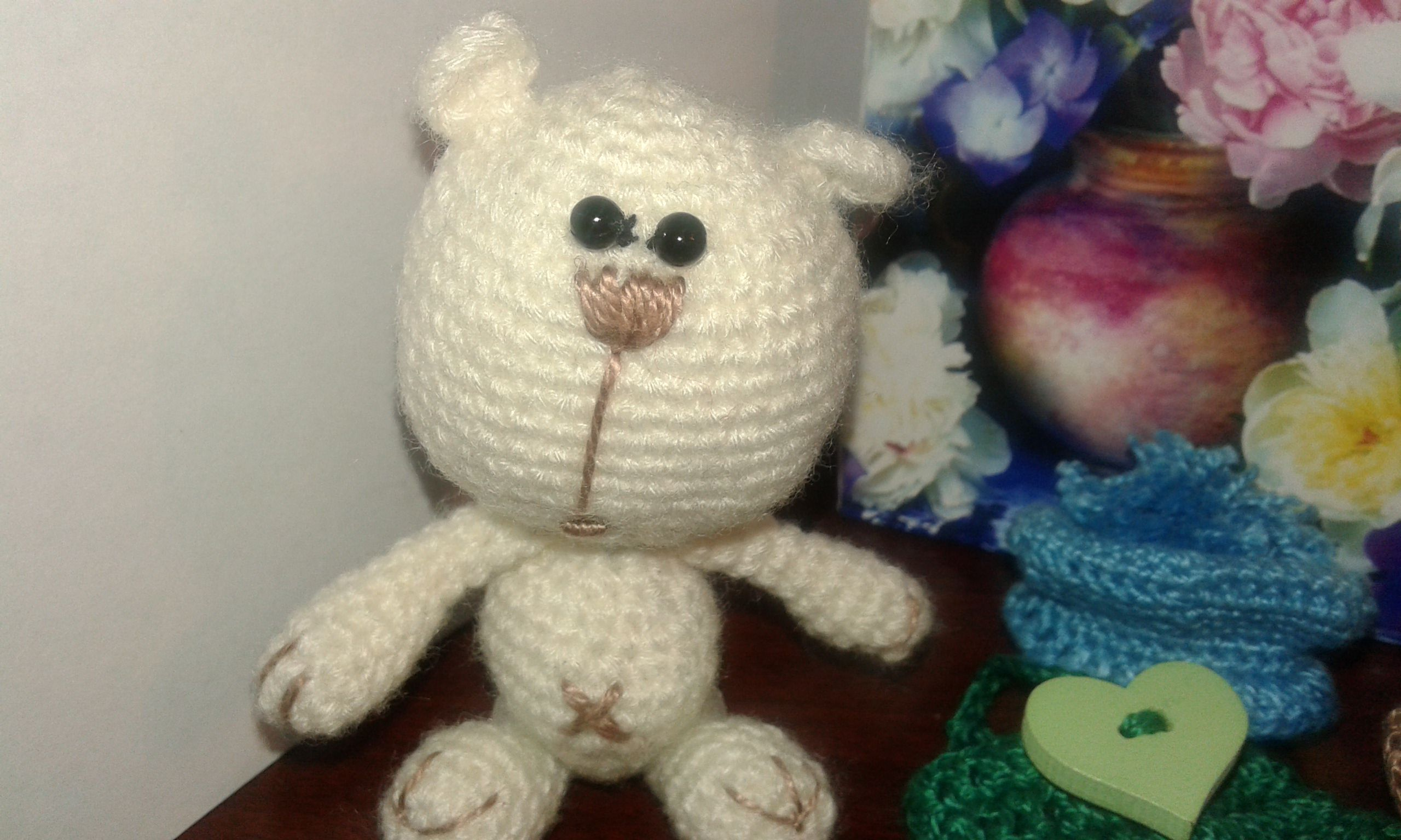 toy bear wool teddy