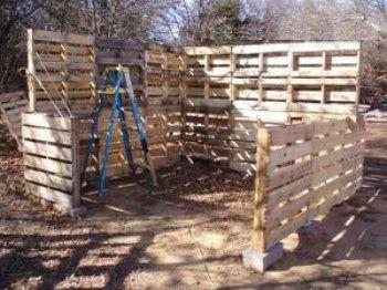 pallet shed handicrafts wood make