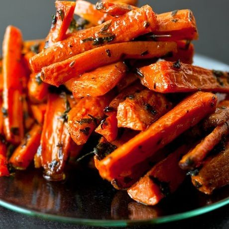 steamed fried carrots cookery cook