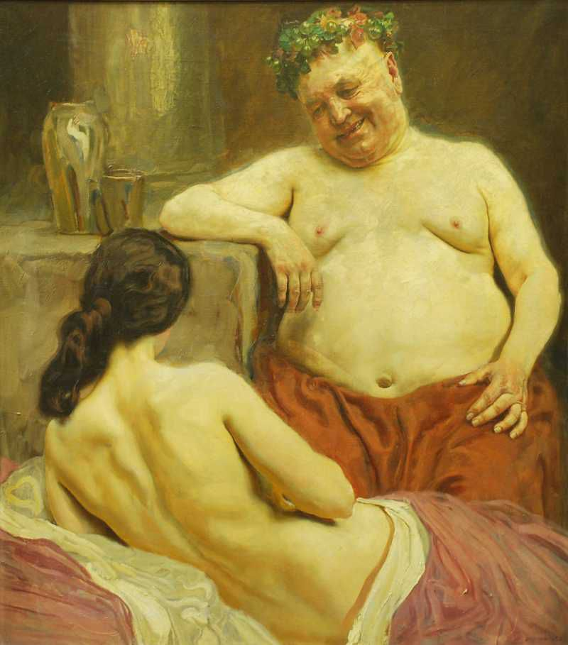 home modern erotic painting art