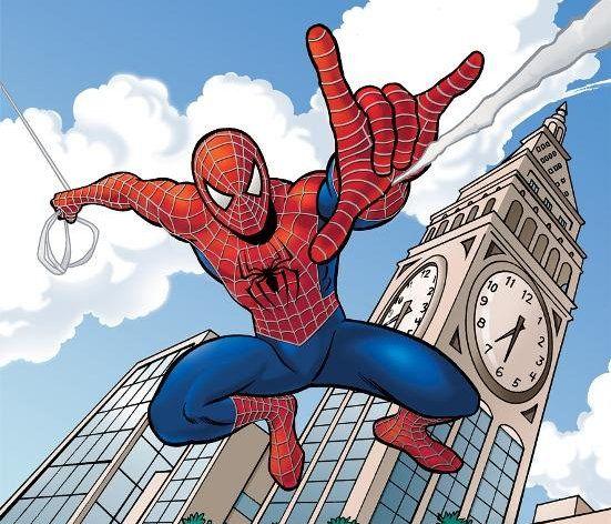 lines art pencil spiderman draw