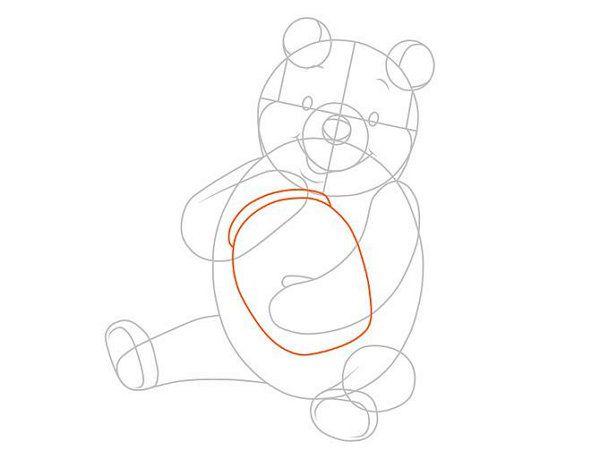 colour pooh winnie draw art