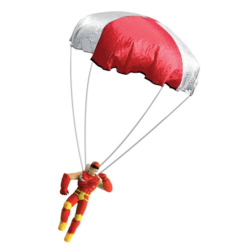 toy children package parachute make