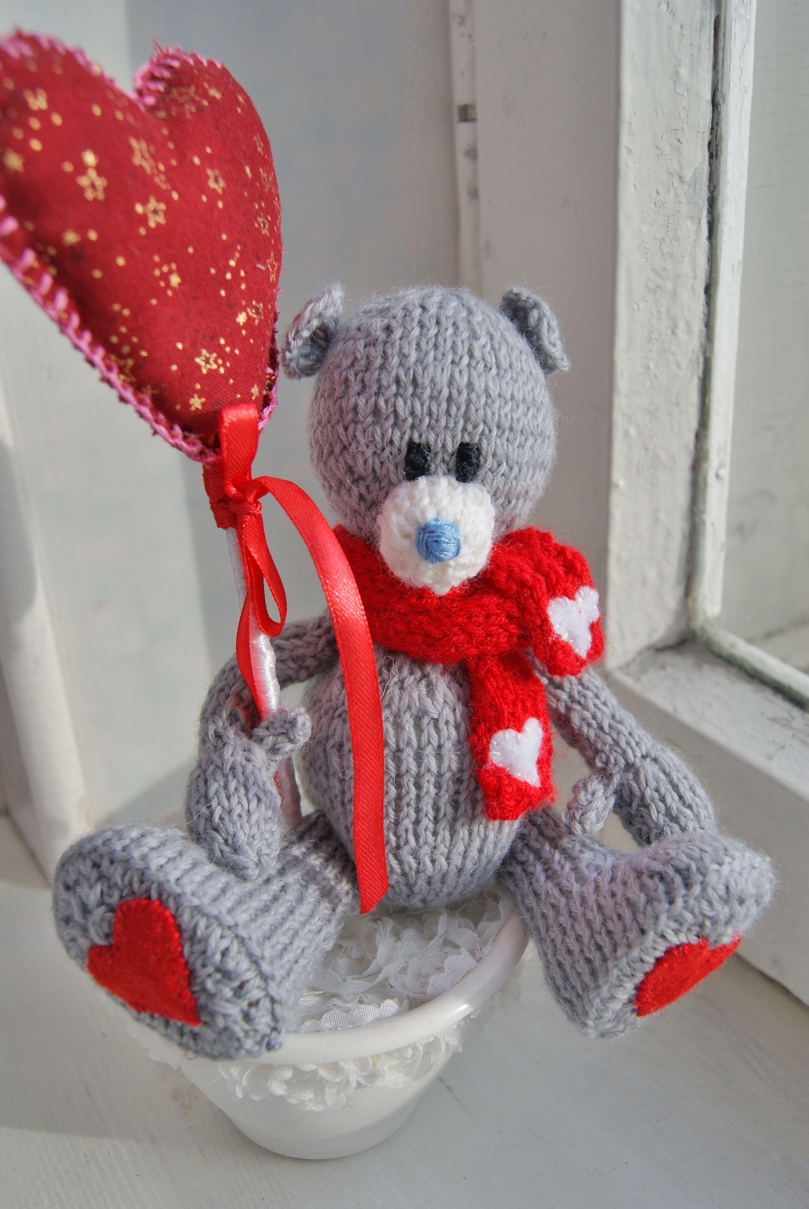 toy gift children warn interiortoy bear knit