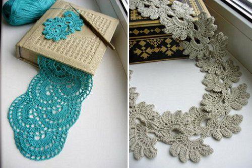 scheme lace textile crochet goods