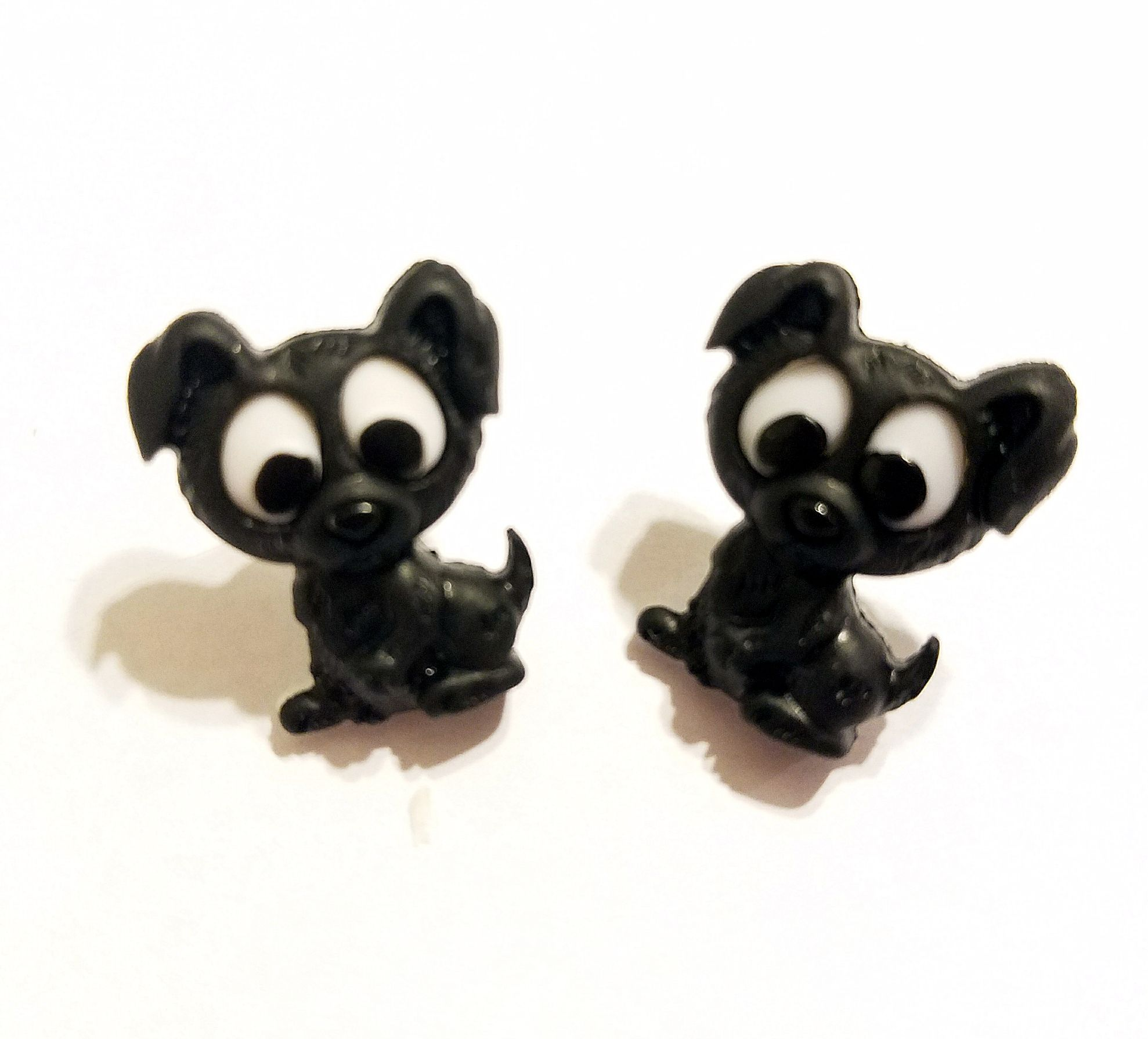 earrings jewelry dogs kriszcreations uniquegifts giftsforher blackdogs
