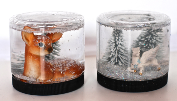 toy instruction snow globes materials make