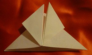 hack butterfly folding origami paper