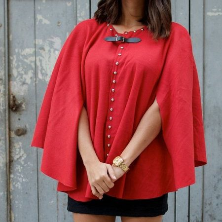 make material wool poncho clothing