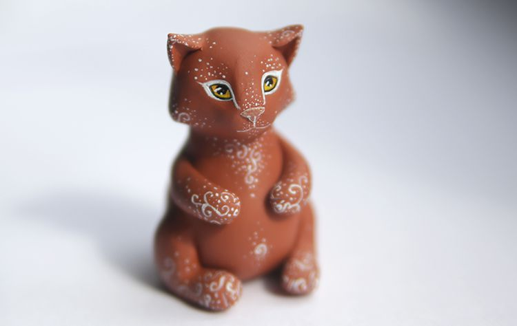 gift cat brown ginger