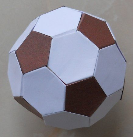make football modules paper crafts