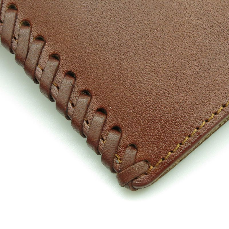 handmade leather accessories brown cover