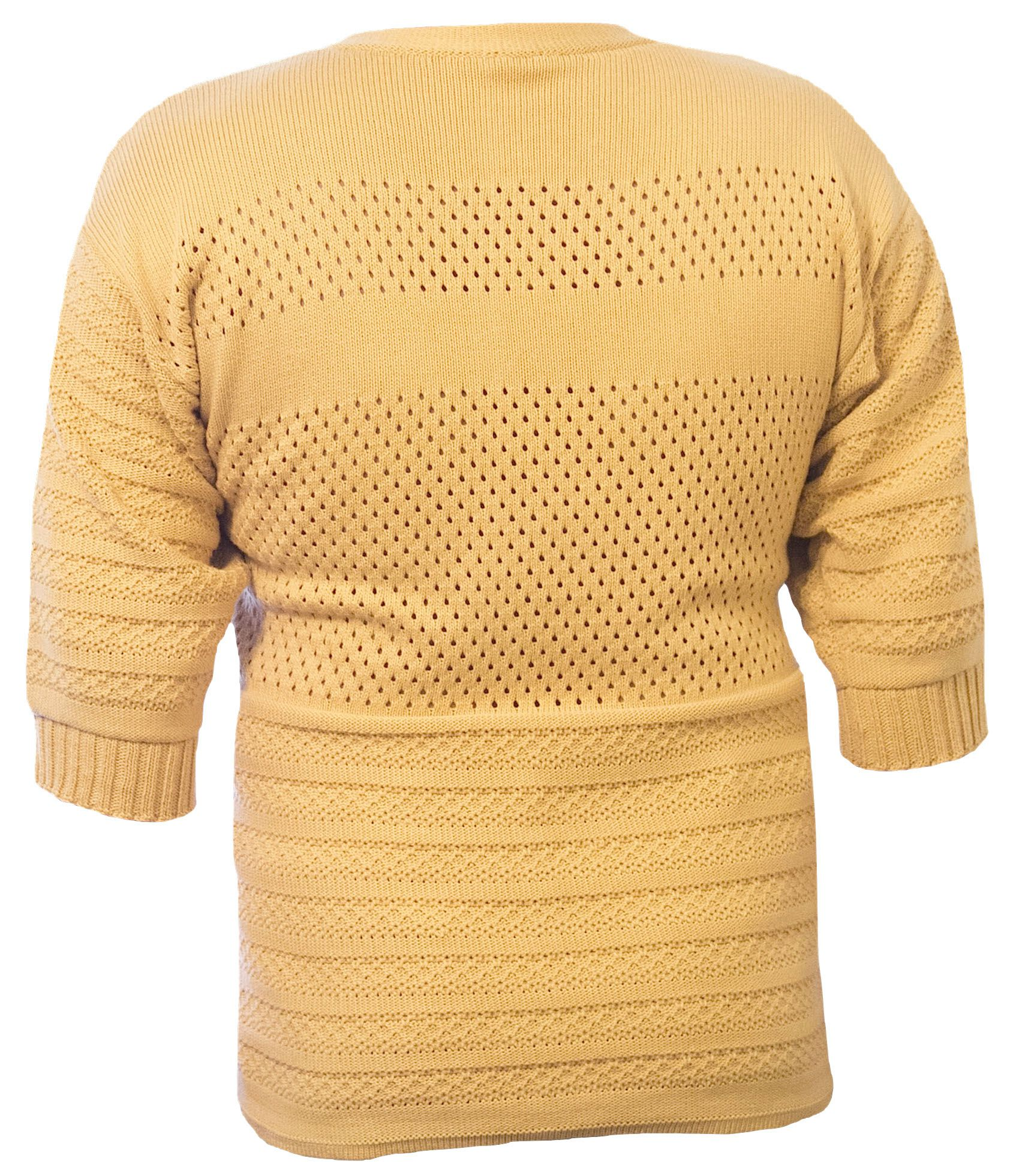 knitted cotton tunic sweater