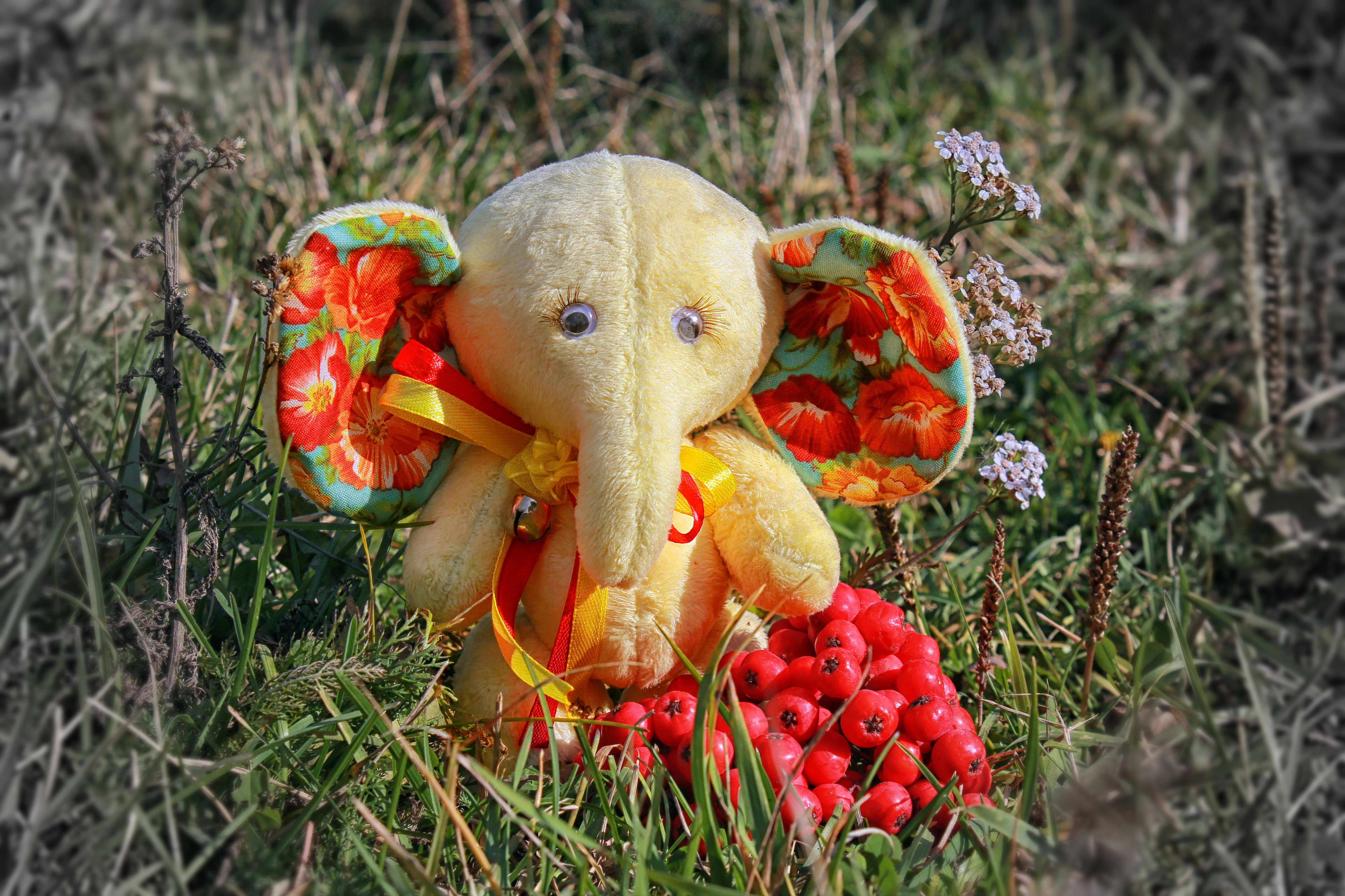 toy souvenir elephant gift surprise cute plush love