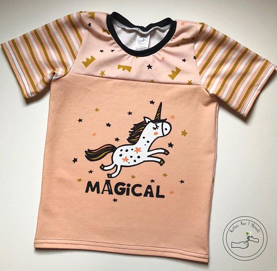 toddler unicorn magical girls shirt
