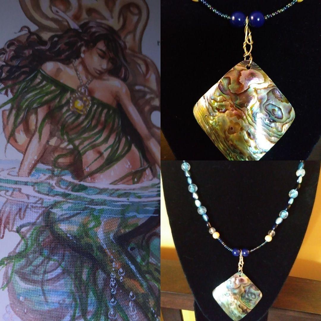 mermaidenergy magicwithin customjewelry butterflyear