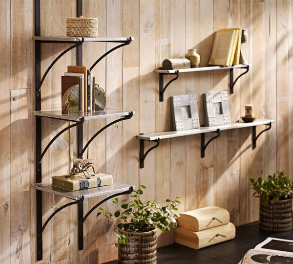 bookshelves functional asymmetry interior decorate