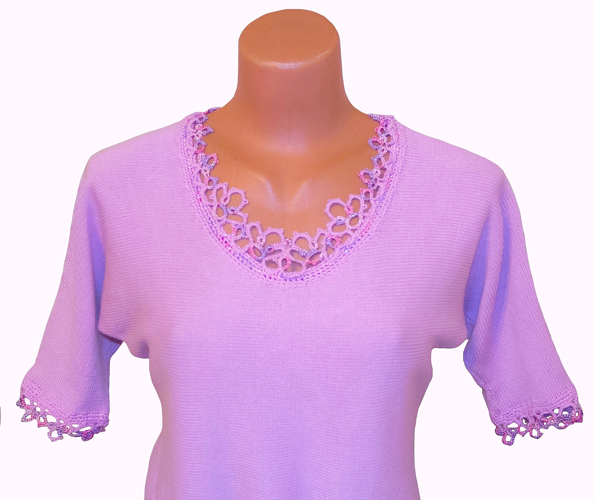 lilac pink clothes top summer