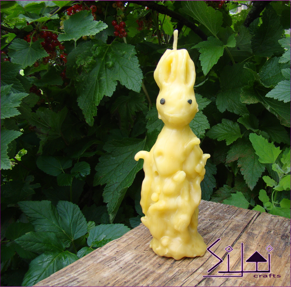 rabbit hare beeswax bunny unusual forest easter handsculpted sculpted rabbitcandle harecandle eastercandle forestcandle beeswaxcandle unusualcandle