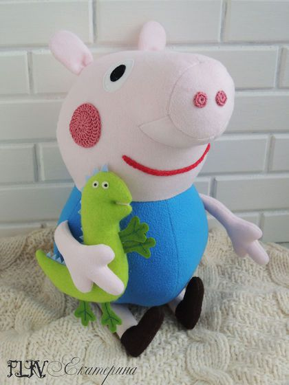 toy gift textile kids peppa pig