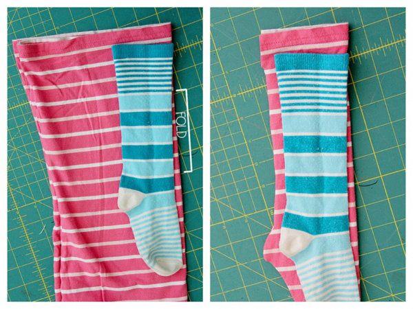 socks sew make clothing fabric