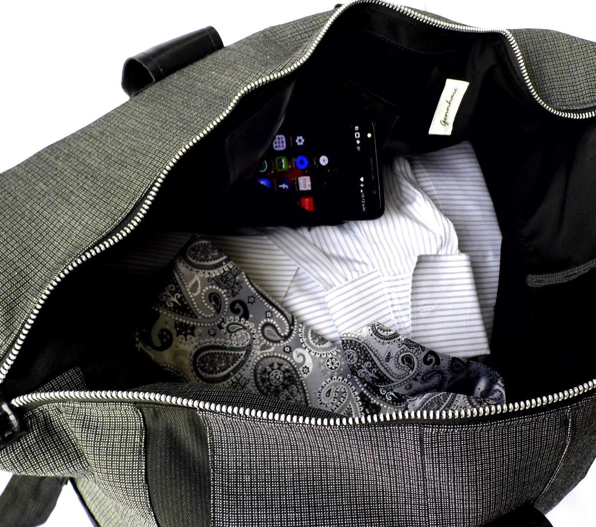 etsy giftsforher gennhaio handmadebags giftsforhim overnightbag weekenderbag