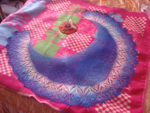 goods knitting block washing textile wool