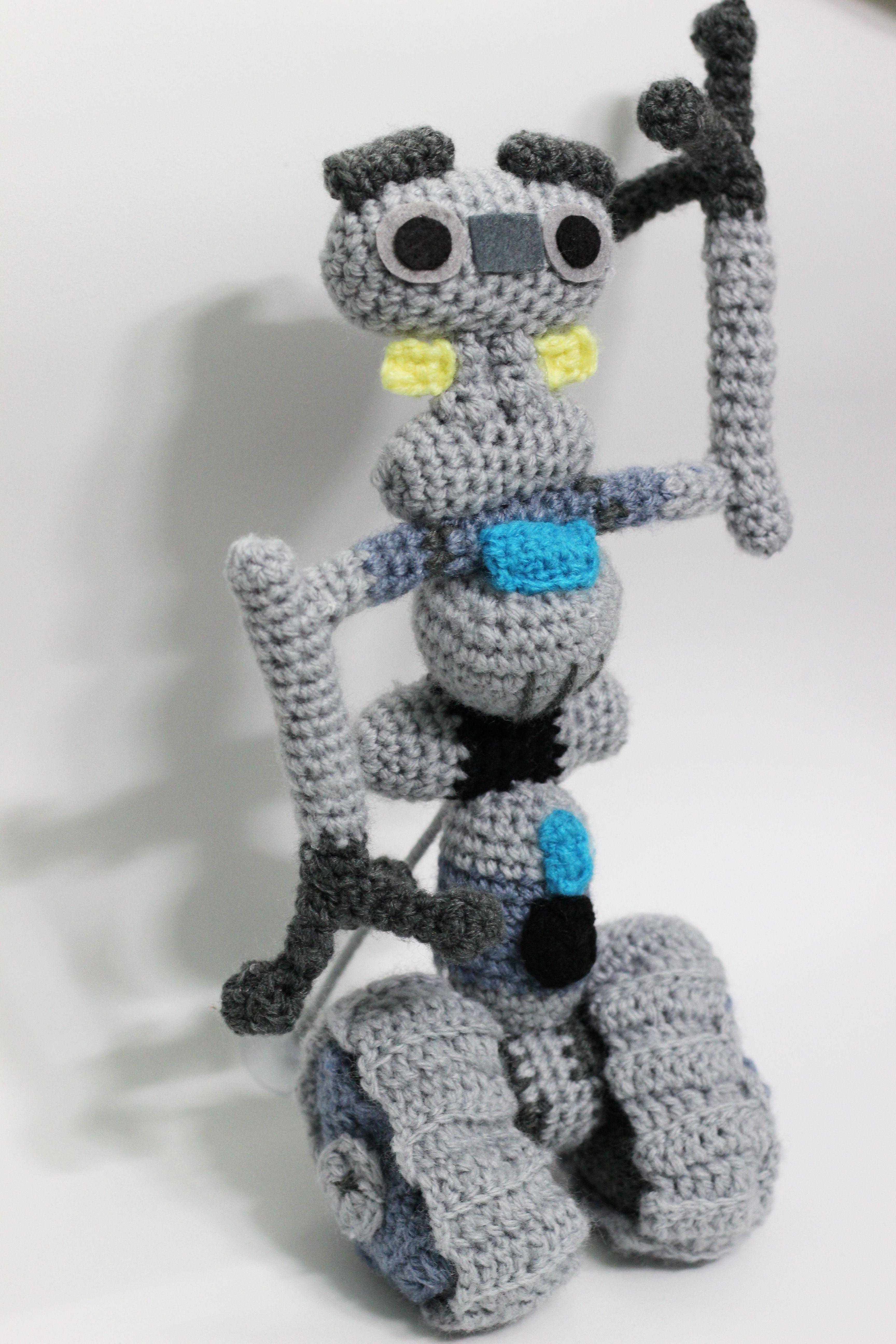 Blue Robot Crochet Pattern Robot Amigurumi Pattern Crochet | Etsy | 5184x3456